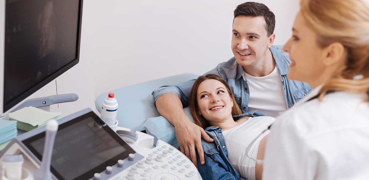 First Ultrasound with couple