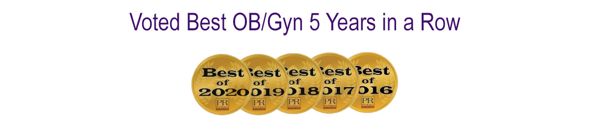 Voted Best OBGYN in Idaho Falls - 5 Years in a Row