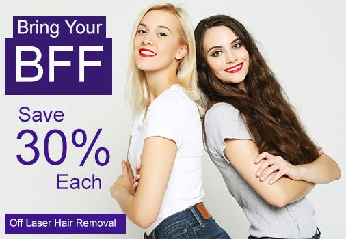 Bring a friend and save 30% each